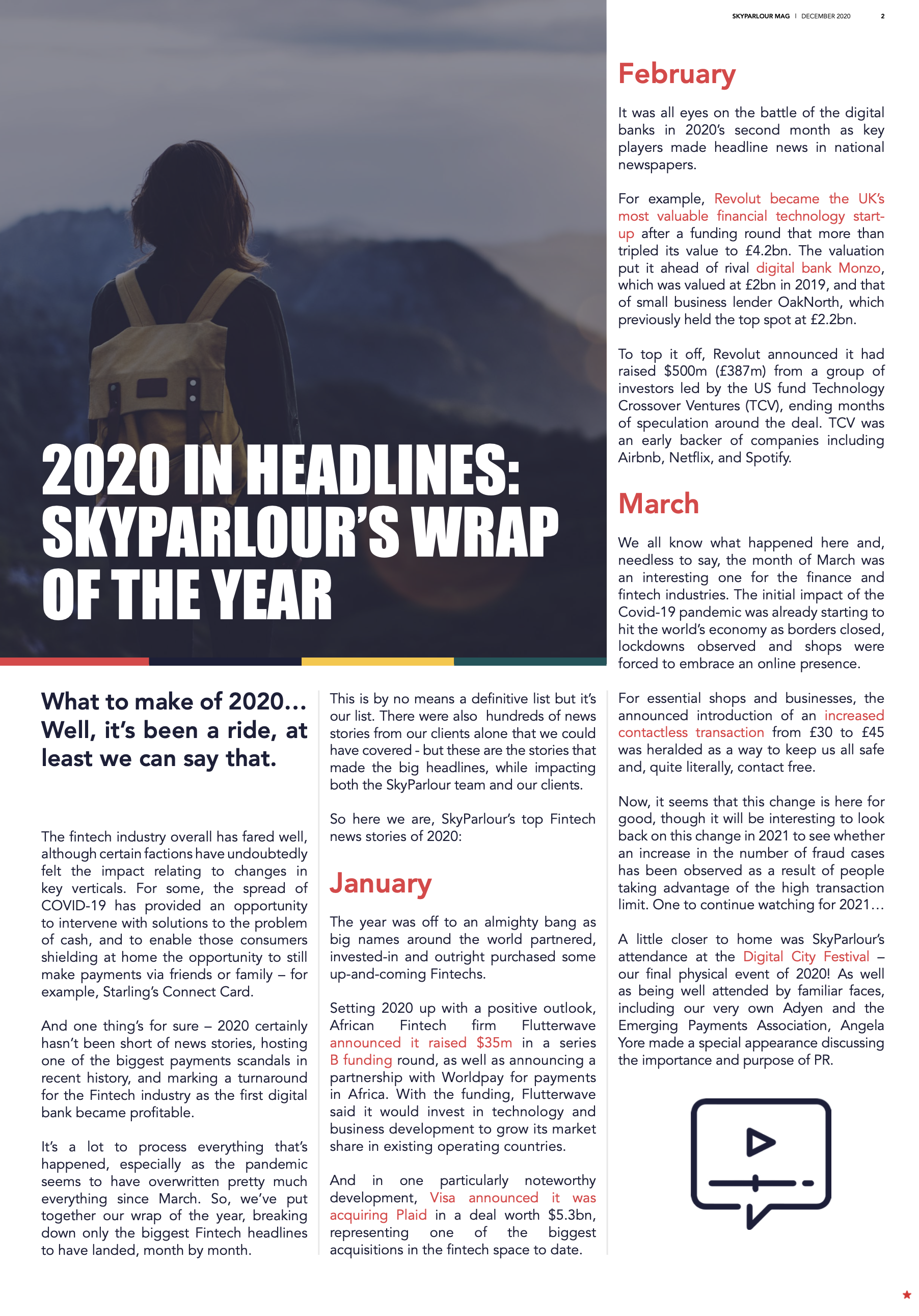 2020 in headlines: SkyParlour's wrap of the year